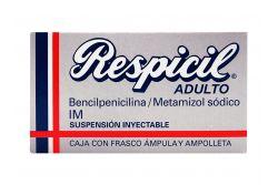 Respicil Adulto Caja Con Frasco Ámpula Y Ampolleta - RX2