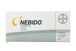 Nebido Solución Inyectable 1000 mg Caja Con 1 Ampolleta 4 mL