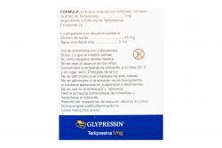 Glypressin 1 mg Solución Inyectable