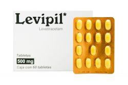 Levipil 500 mg Caja Con 60 Tabletas