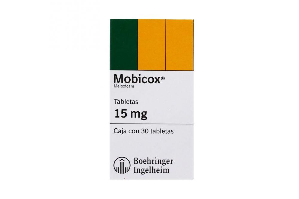 Mobicox 15 mg Caja Con 30 Tabletas