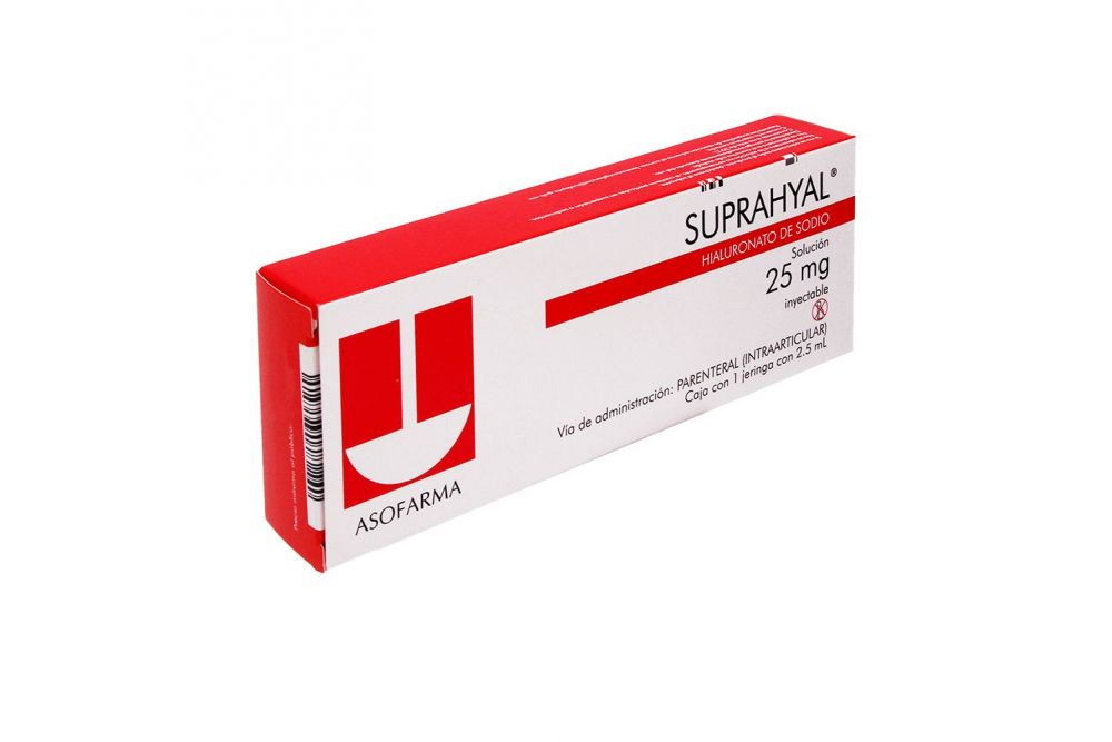 Suprahyal Caja Con 1 Jeringa Prellenada De 2.5 mL