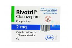 Rivotril 2 mg Caja Con 100 Comprimidos - RX1