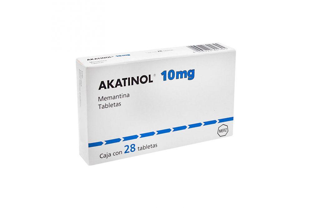 Akatinol 10 mg Caja Con 28 Tabletas
