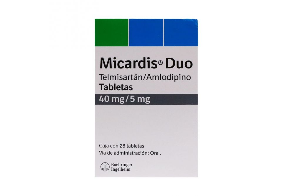 Micardis Duo 40 mg/5 mg Caja Con 28 Tabletas