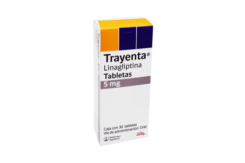 Trayenta 5 mg Caja Con 30 Tabletas