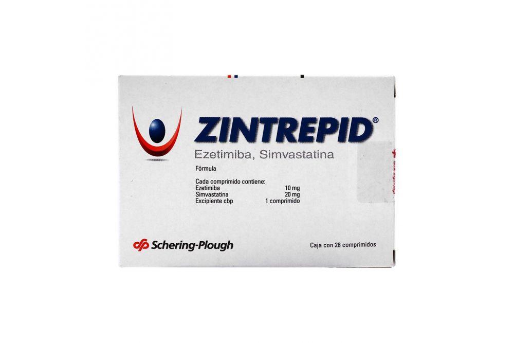 Zintreprid 10mg/20mg Caja Con 28 Comprimidos