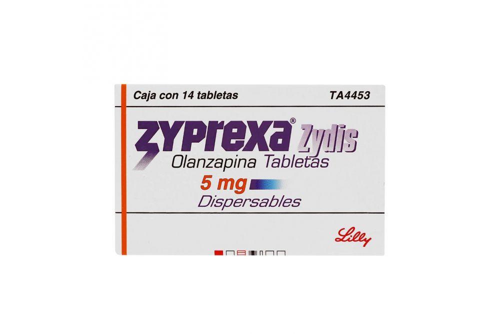 Comprar-Zyprexa-Zydis-5-mg-Caja-Con-14-T