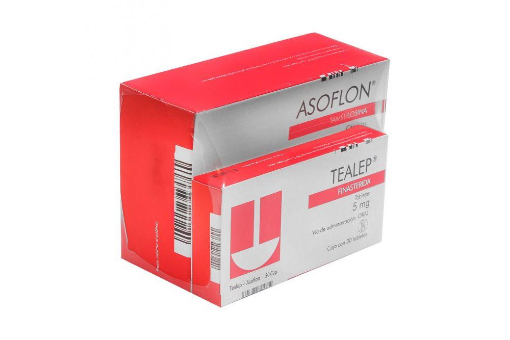 Tealep Asoflon 5 0 4mg Precio 2 30 Comprimidos En Mexico Y Df