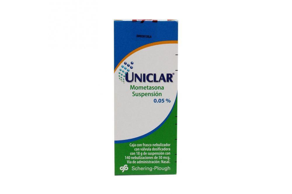 Uniclar Suspensión 0.05% Caja Con Frasco Con 18 g