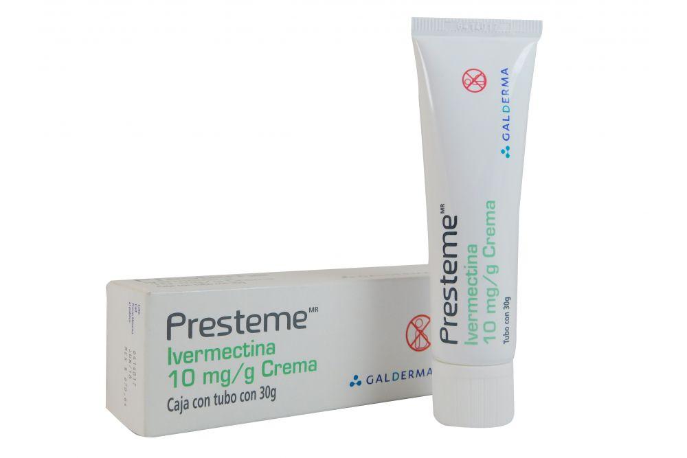 Presteme 10 mg/g Crema Caja Con Tubo 30 g - RX