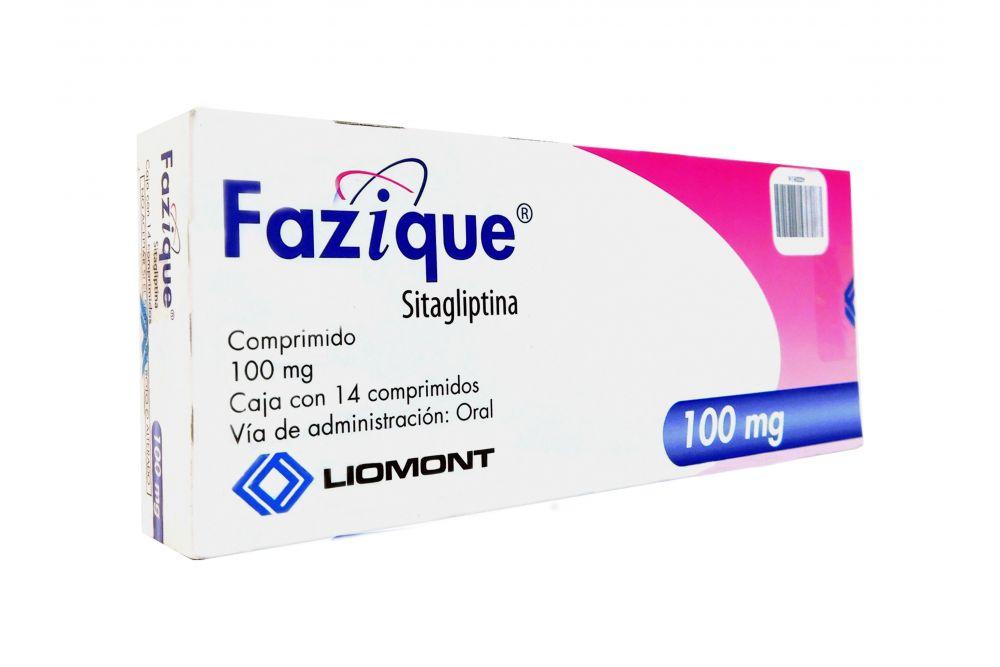 Fazique 100 mg Caja Con 14 Comprimidos