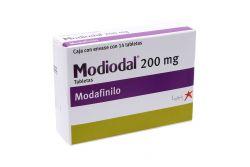 Modiodal 200 mg Caja Con Envase Con 14 Tabletas