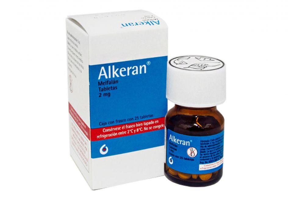 Alkeran 2 mg Caja Con 25 Tabletas - RX3