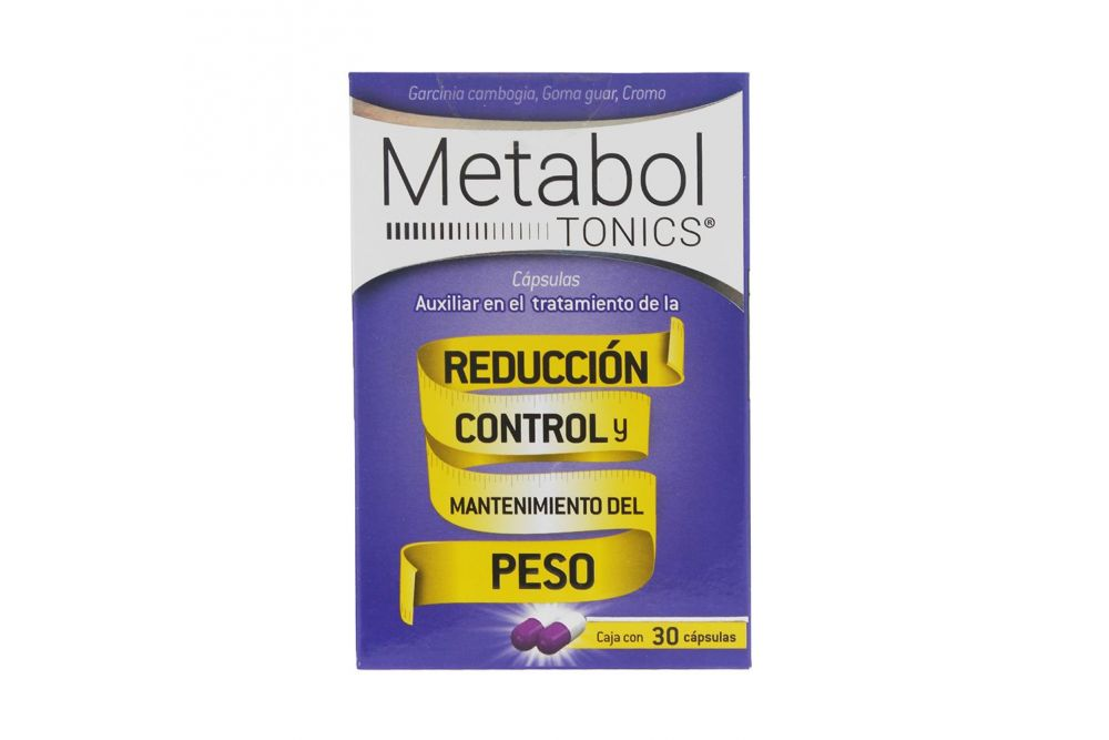 Metaboltonics Precio Caja Con 30 Capsulas En Mexico Y Df