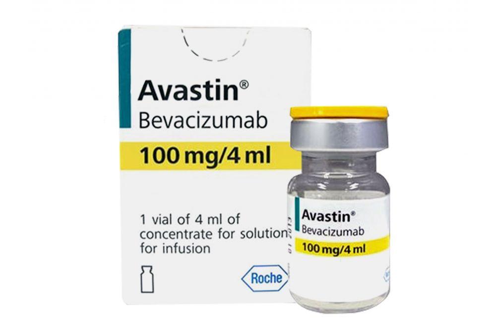 Avastin 100 mg Caja Con Un Frasco Ámpula Con 4 mL Rx3
