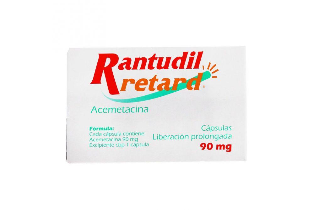 Rantudil Retard 90 mg Caja Con 14 Cápsulas