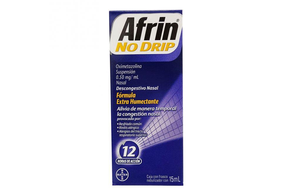 Afrin No Drip .050 % Caja Con Frasco De 15 mL