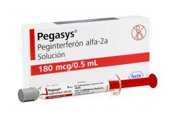Pegasys Solución 180 mcg/0.5 mL Caja Con 1 Jeringa precargada - Rx3