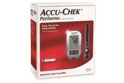 Accu Chek Performa Kit Caja Con 1 Equipo, 10 Tiras y 10 Lancetas
