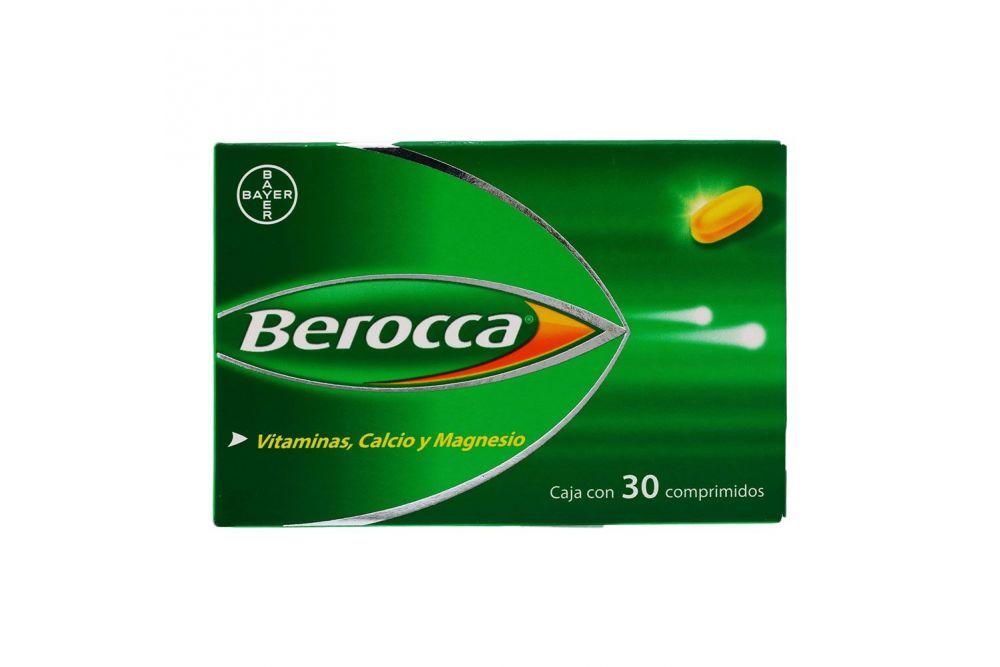 Berocca Caja Con 30 Comprimidos