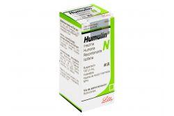 Humulin N Solución 100 UI / mL Caja Con Frasco Àmpula Con 10 mL  RX3