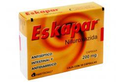 Eskapar 200 mg Caja Con 16 Cápsulas