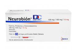 Neurobion DC 100 mg / 100 mg / 10 mg Caja Con 3 Jeringas Prellenadas