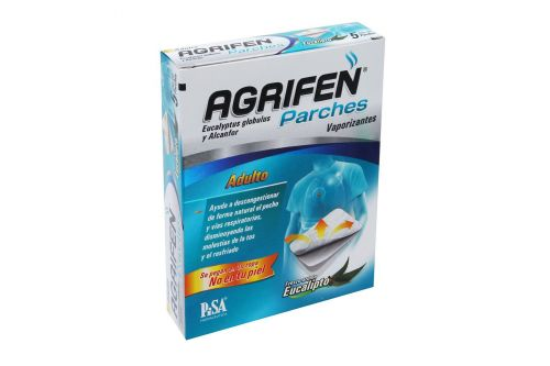 Agrifen Parches Adulto Caja Con 5 Parches