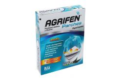 Agrifen Parches Adulto Caja Con 5 Parches