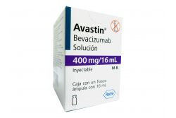 Avastin Solución 400 mg Caja con Frasco Ámpula 16 mL -RX3
