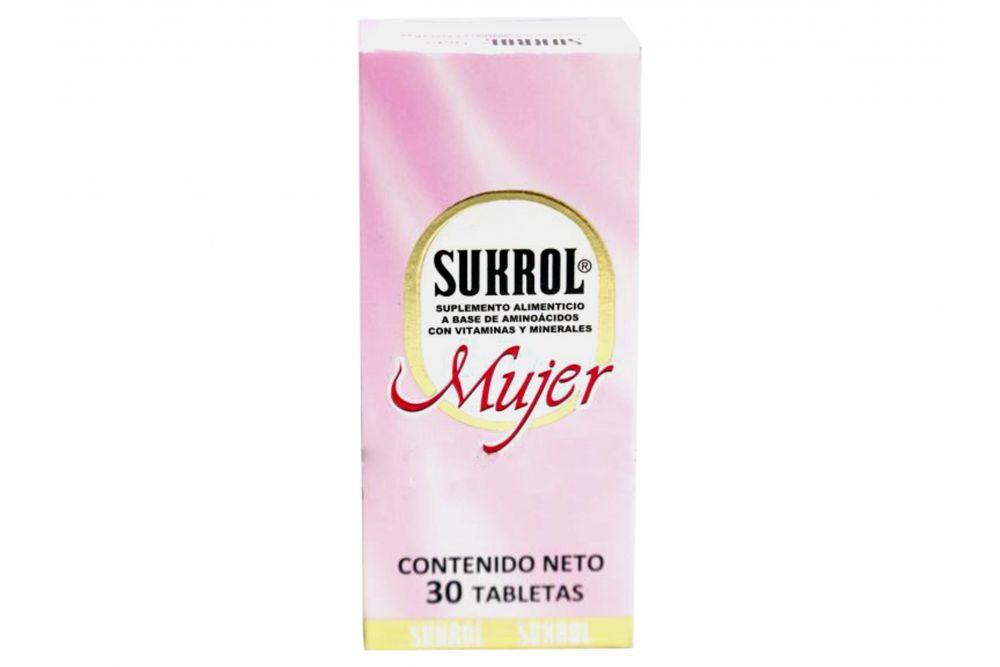 comprar-sukrol-mujer-caja-con-30-tableta