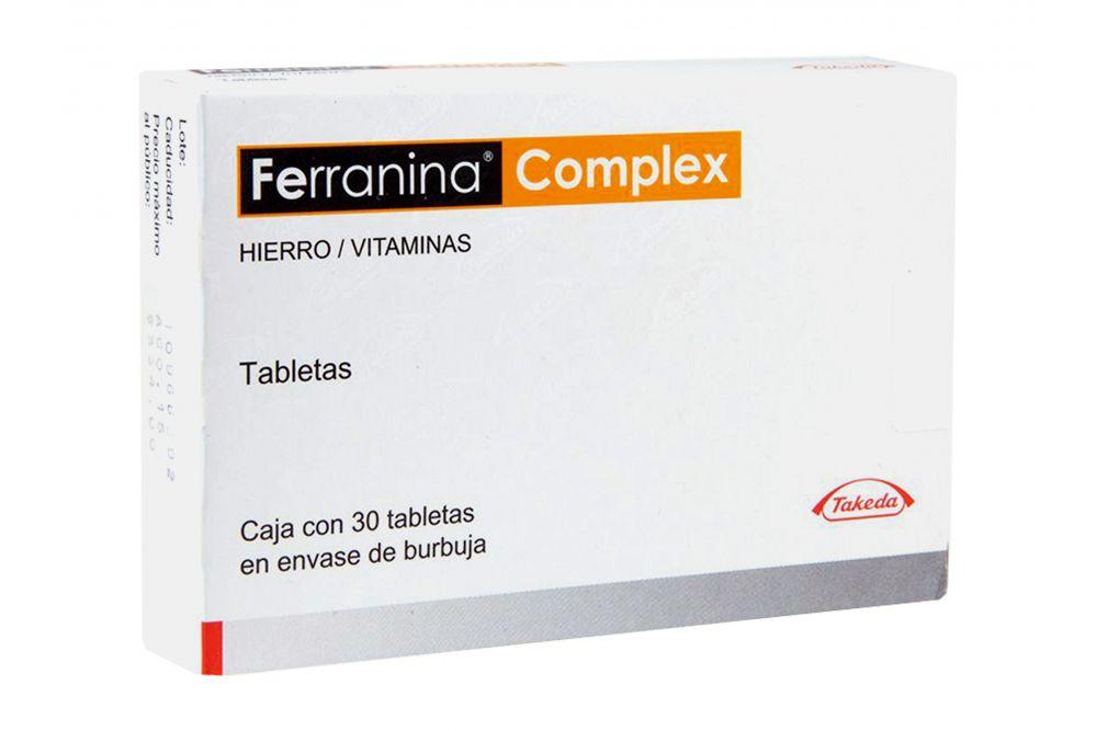 Ferranina Complex Caja Con 30 Tabletas