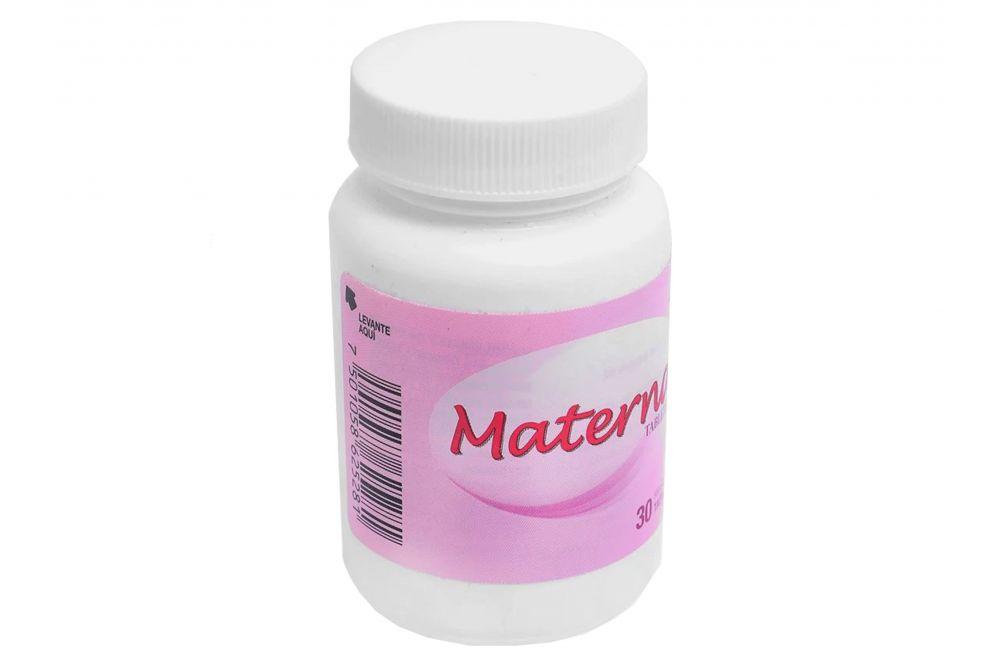 Materna Frasco Con 30 Tabletas