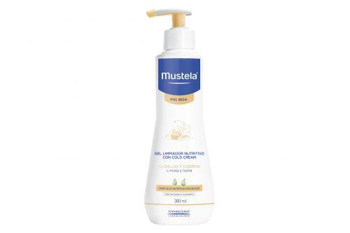 Mustela Gel Limpiador Nutritivo Con Cold Cream 300 mL