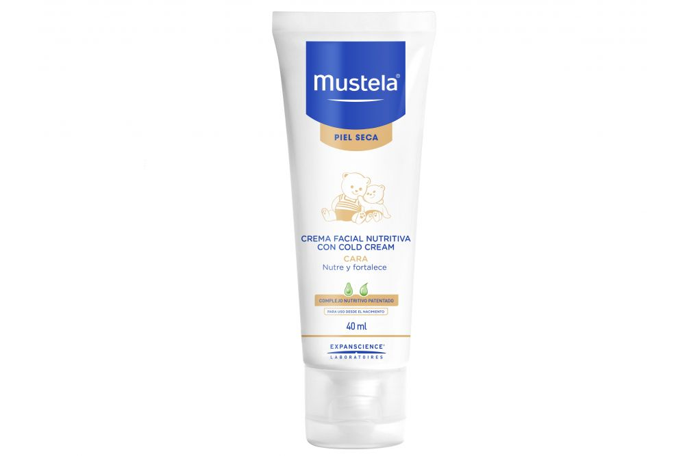 Mustela Crema Nutritiva Facial Con Cold Cream 40 mL