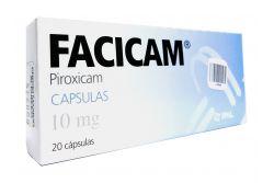 Facicam 10 mg Caja con 20 Cápsulas