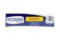 Deltamid Ungena 100 mg/5 mg/g Caja Con Tubo Con 3g RX2