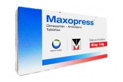 Maxopress 40 mg/5 mg Caja Con 14 Tabletas