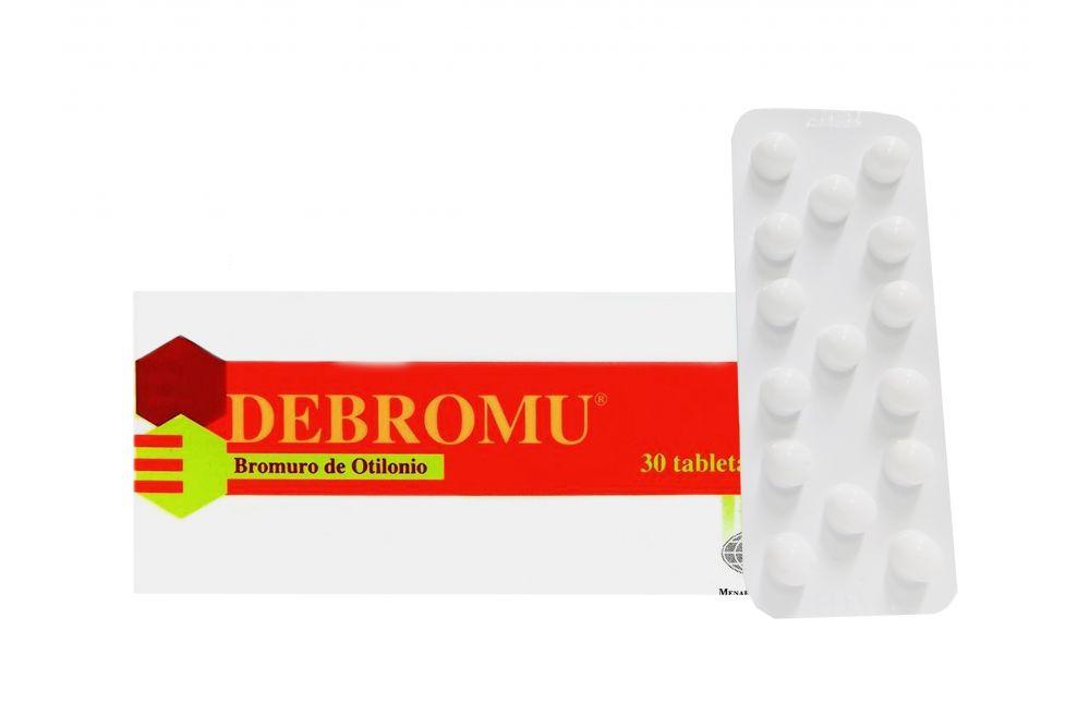 Debromu 40 mg Caja Con 30 Tabletas