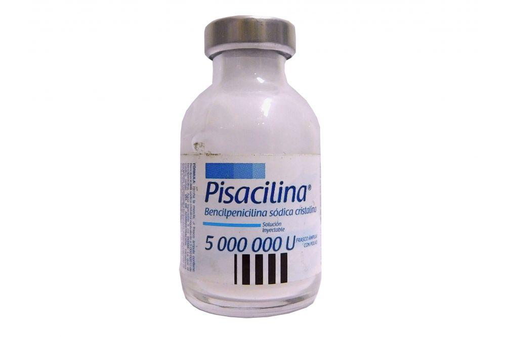 Bencilpenicilina Sódica 500000 UI Caja Con Frasco Ámpula Y Ampolleta Con 8 mL - RX2