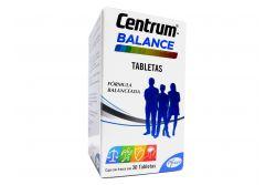 Centrum Fórmula Balanceada Caja Con Frasco Con 30 Tabletas