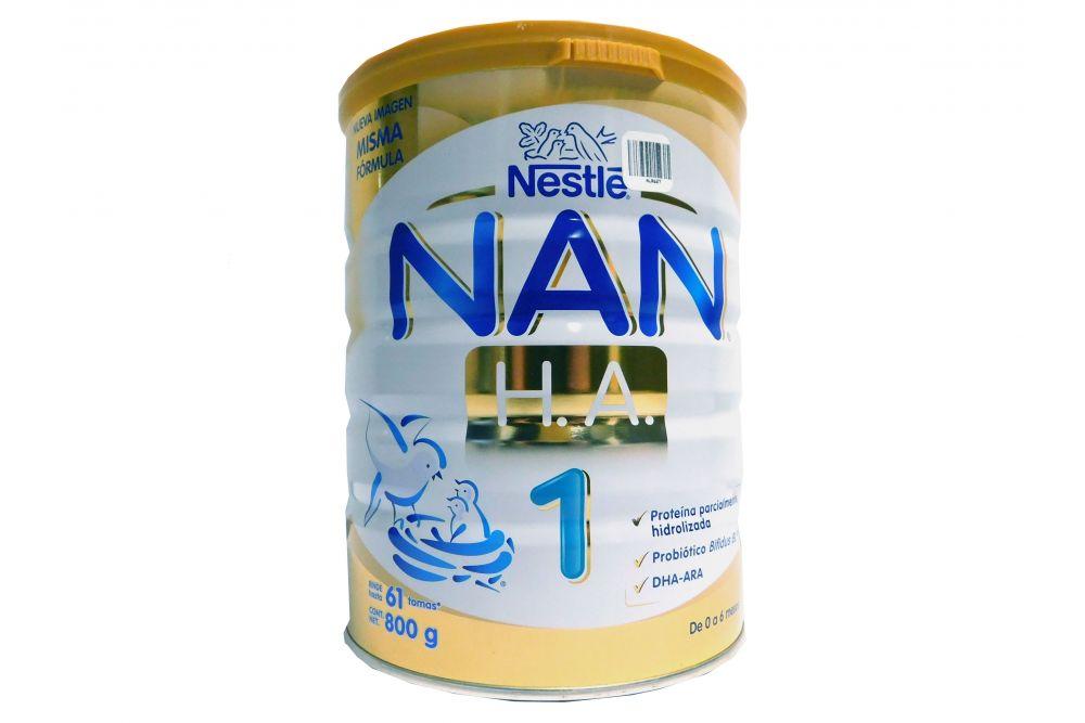 NAN H.A 1 De 0-6 Meses Lata Con 800 g