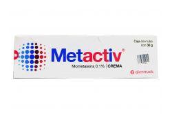 Metactiv 0.1 % Caja Con Tubo Con 30 g Crema