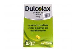 Dulcolax Caja Con 30 Grageas