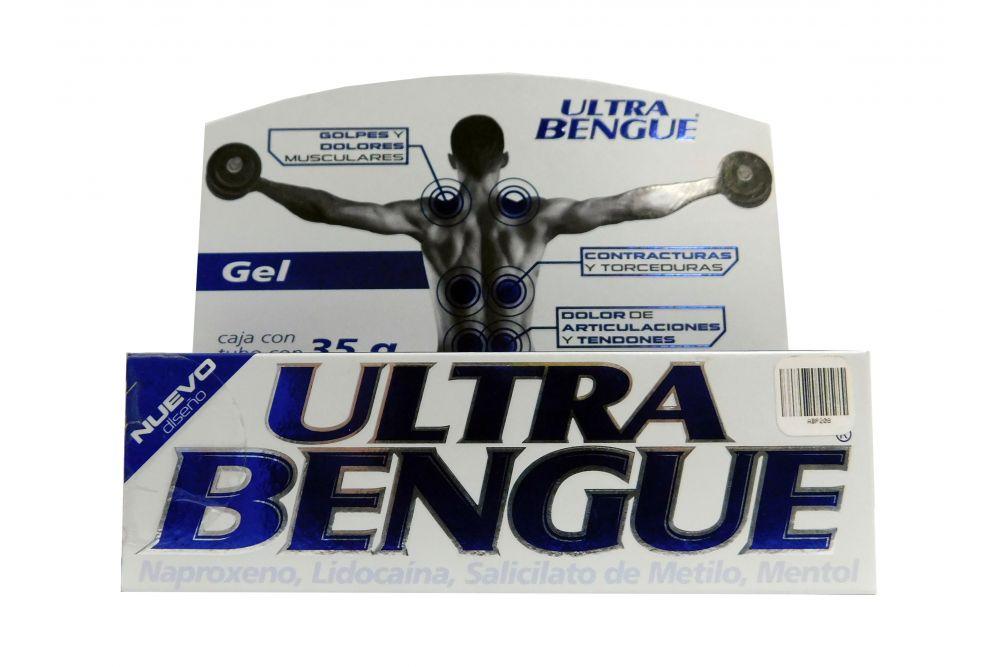 Ultra Bengue Azul Caja Con Tubo Con 35 g