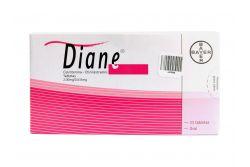 Diane Caja Con 21 Tabletas