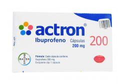 Actron 200 mg Caja Con 10 Cápsulas