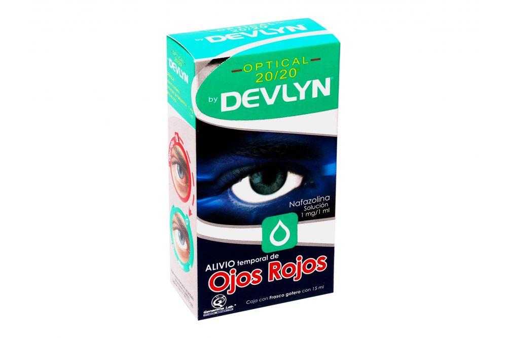 Devlyn Optical 20/20 Caja Con Frasco Gotero Con 15mL