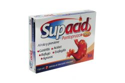 Supacid 20 mg Caja Con 7 Tabletas De Liberación Retardada